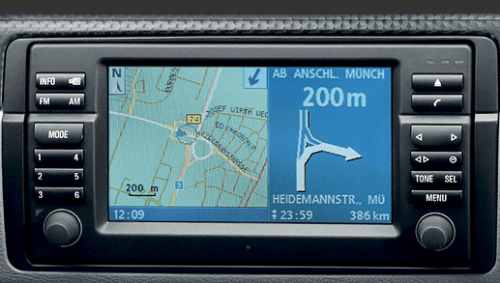 CD VDO BMW Digital Road Map 2015 Navigation